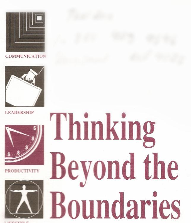 Thinking Beyond the Boundaries